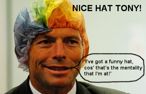 Abbott n Funny Hat