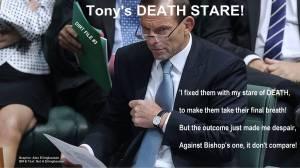 Abbotts Death Stare