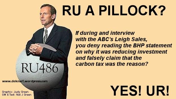 BHP Lies