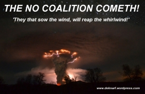 No Coalition Cometh