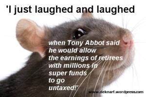 Untaxed Super Rat