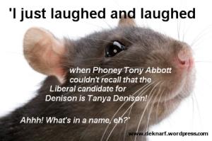 Abbott forgets