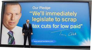 Abbott scrap poor paid tax