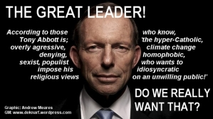 Great leader Abbot