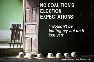No Coalition expectations