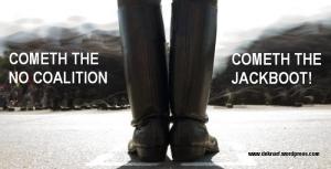 NO Coalition jackboot