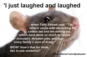 Three Little Lies Rat