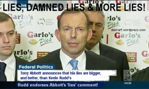Bigger Lies than Rudd