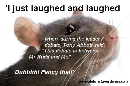 Bleedin Obvious Rat