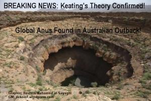 Keatings anus