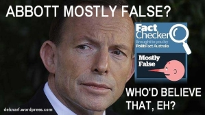 PolitiFact false Abbott