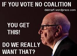 Vote Coalition Murdoch