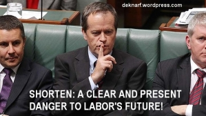 Danger man Shorten