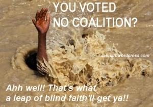 Leap of Blind Faith