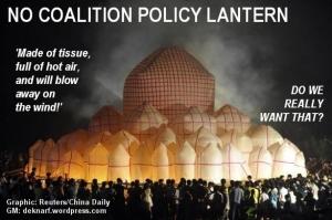 No coalition lantern