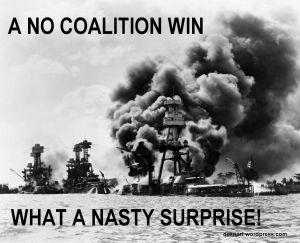 No Coalition Surprise