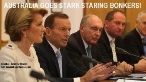 Stark staring bonkers