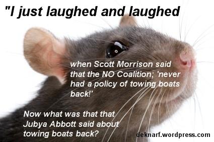 Rat No Towbacks