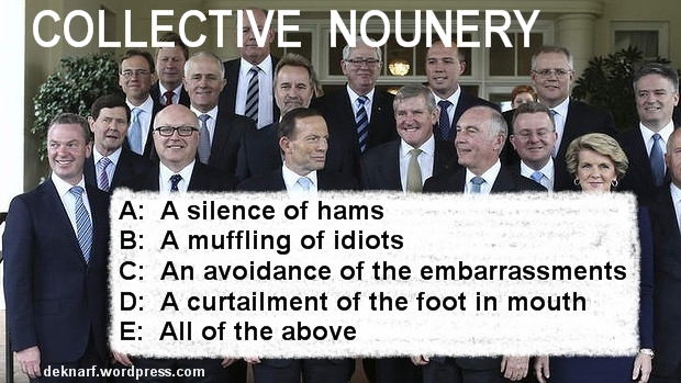 Collective Nounery Silence