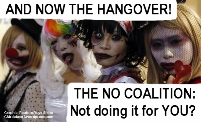 NO Coalition hangover