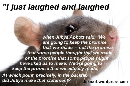 Backflip Abbott Rat