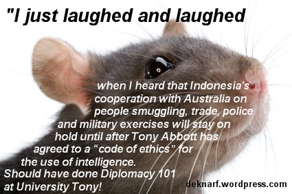 Diplomatic Tony Rat
