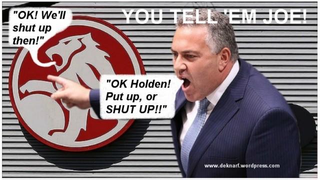 Hockey tells them