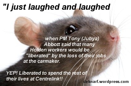 Liberated Abbott Rat