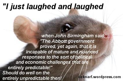 Unpredicatable Rat