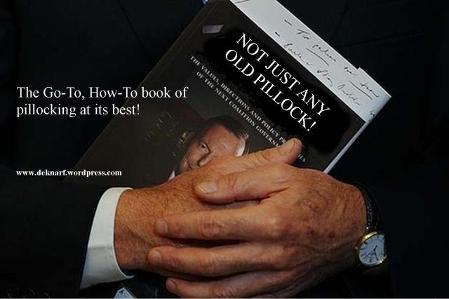Pillock Book