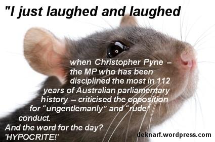 Hypocrite Pyne Rat