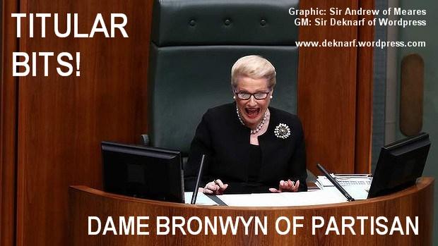 Title Partisan Bronwyn