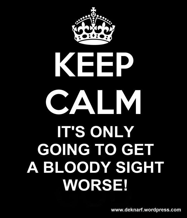 Calm Getting Worse