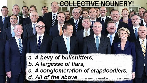 Collective Nounery Liars