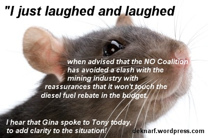 Mining Diesel Rat