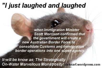 Morrison Bureaucracy Rat