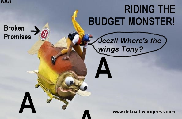 Abbotts Budget Monster