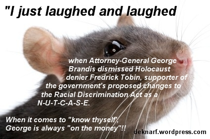Brandis Nutcase Rat