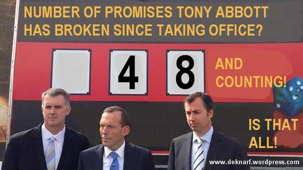 Broken Promise Abbott