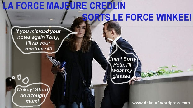 Force Majeure Credlin