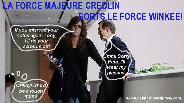 Force Majeure Credlin