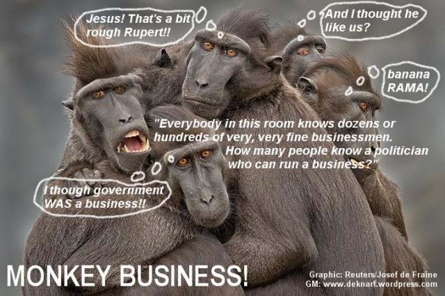 Monkey Business Rupert