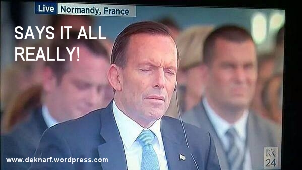 Says it all Abbott