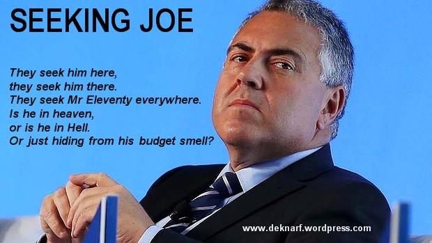 Seeking Joe