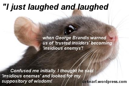 Insidious Enema Rat