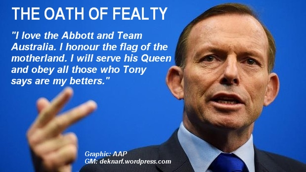 Loyal Tony Oath