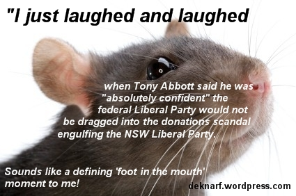Scandal Abbott Rat