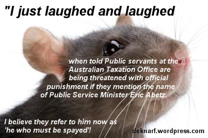 ATO Abetz Rat