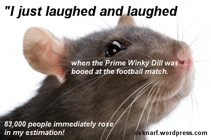 Booed Abbott Rat