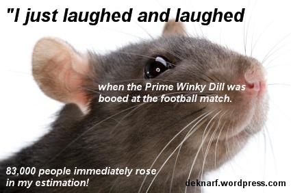 Booed Abbott Rat